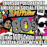 1st annual ugly sweater 80s and old school hip hop bash