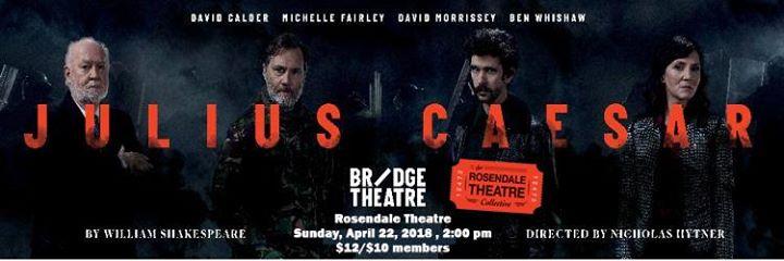 National Theatre Presents Julius Caesar