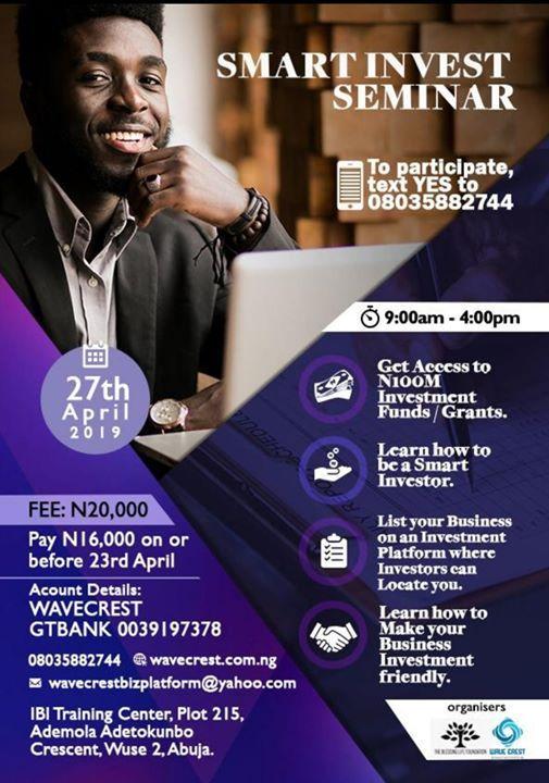 Smart Invest Seminar