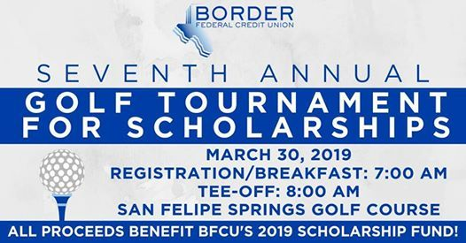 Border Federal Credit Union Golf Tournament for Scholarships