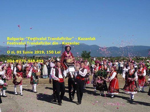 O Zi n Bulgaria - Festivalul Trandafirilor - Kazanlak