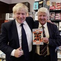 Literary Lunch with Stanley Johnson