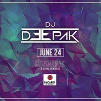 DJ Deepak at Farzi Cafe