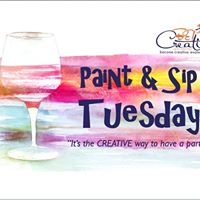 Paint &amp Sip Tuesday