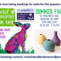 Made in Bradford on Avon Summer Fair