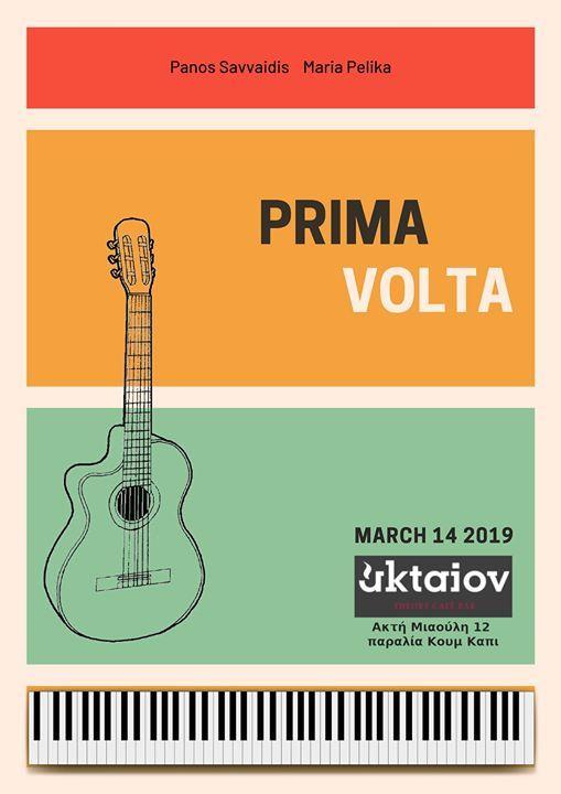 Prima Volta - Piano Night Aktaion - 14 March
