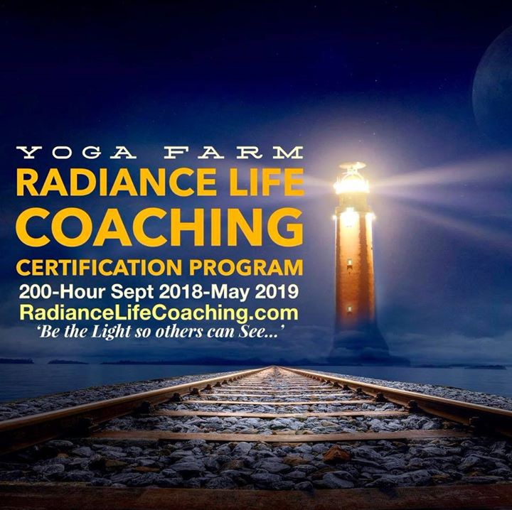 Radiance Life Coaching 200 Hr Certification Program At Yoga Farm