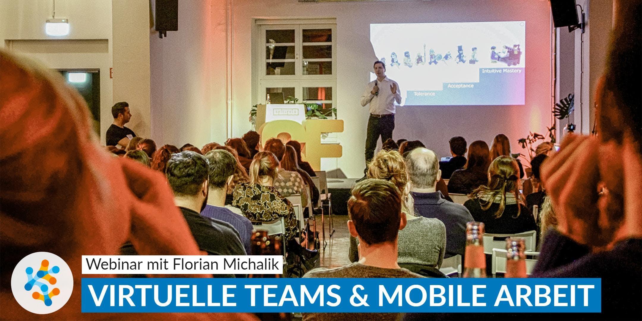 Virtuelle Teams  Die 5 Erfolgsfaktoren  Webinar