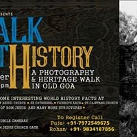 Walk With History A Photography and Hertitage Walk in Old Goa