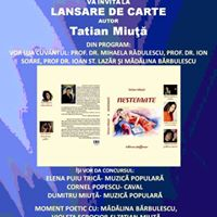 Lansare de carte autor Tatian Miu