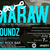 Save Marawi Benefit Gig For The Refugees Of Marawi City
