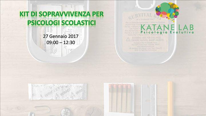 Kit di sopravvivenza per psicologi scolastici