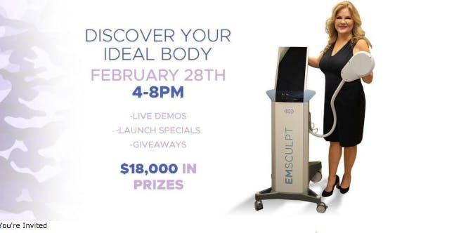 EMSCULPT Better Body Boot Camp & Launch Party  Simple Radiance Medspa