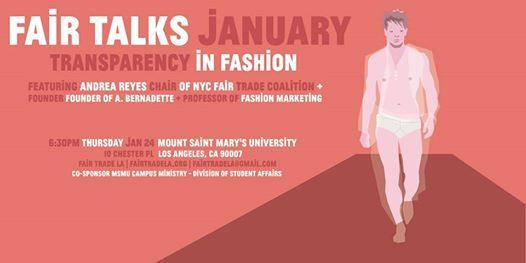 FAIR Talks Fair Trade Fashion 101