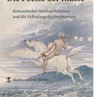Buchvorstellung Patrick Eiden-Offe - Die Poesie der Klasse