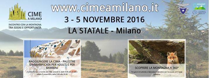 CIME a Milano. Incontro con la montagna tra sogni e opportunit