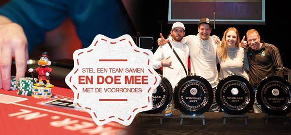 Team Poker Kampioenschap van Roosendaal