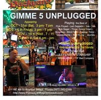 gimme 5 unplugged at the backyard boynton beach boynton beach