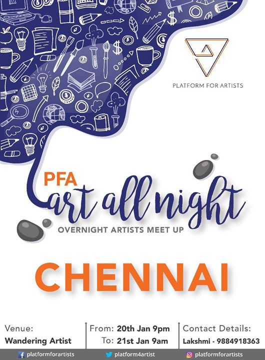 PFA Art All Night Chennai