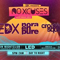 EDX at Spin Nightclub - Sunday 910  presented by LED