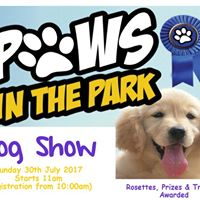 Paws in the Park Dog Show 2017