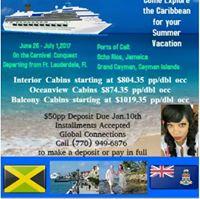 Jammin Jamaica &amp Conga Cayman