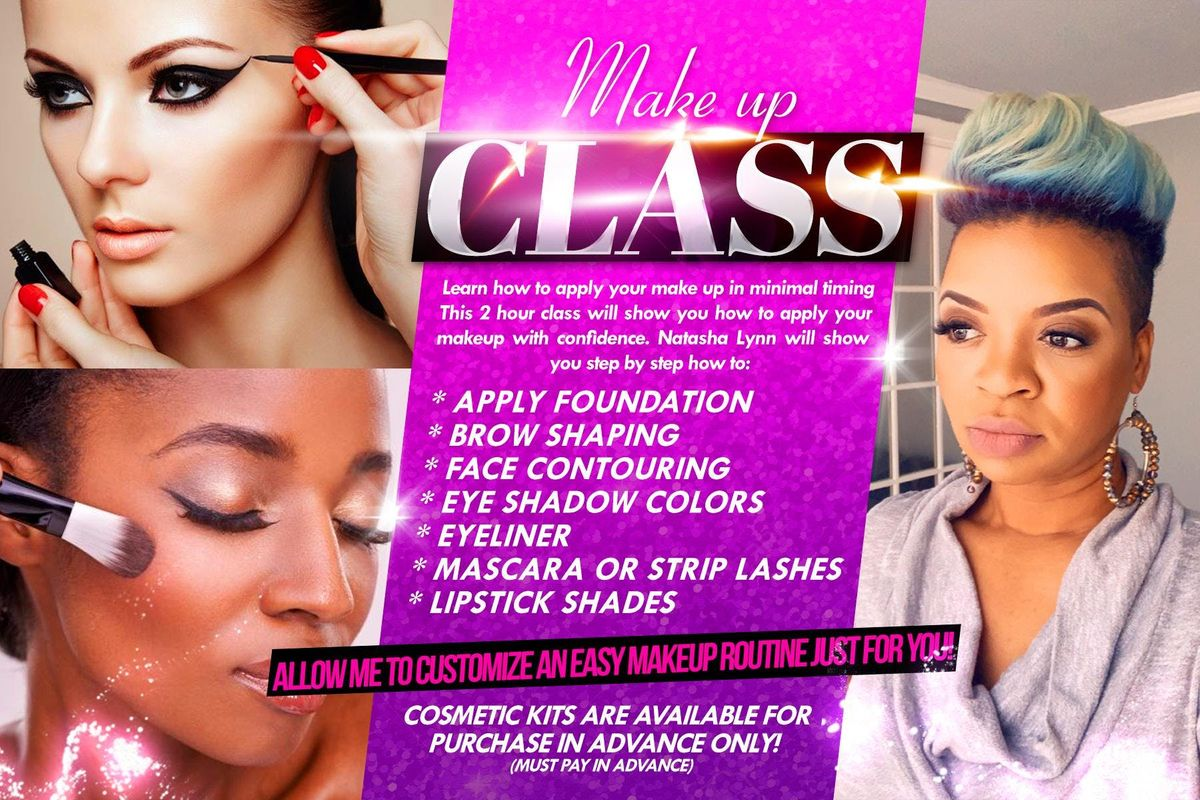 "Makeup Class ""Beginners- Intermediate Course"" at Palmetto"