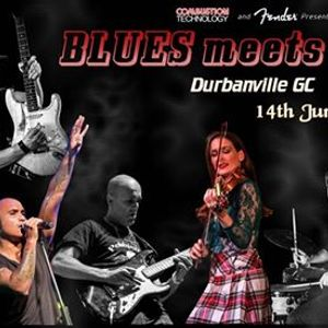 The All Star BLUES MEETS ROCK Show - 14 June (Durbanville GC)