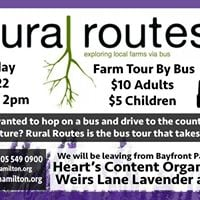 Rural Routes - July Trip