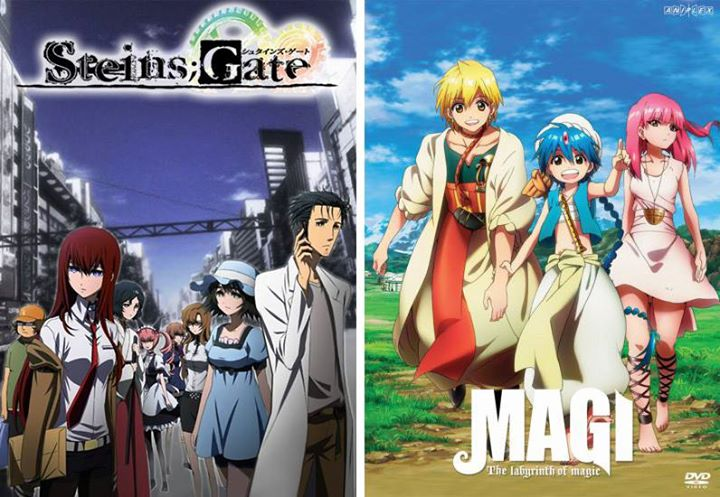 lets watch anime magi steins gate anime screening at the awesome