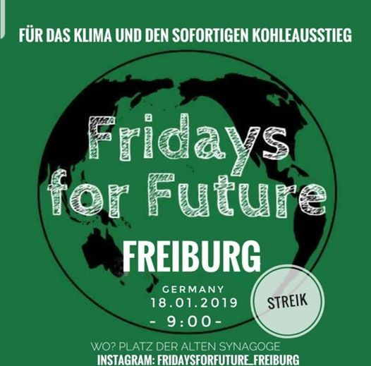 Fridays for Future Freiburg - Wir streiken bis ihr Handelt