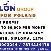 Job Fair for Poland - 2 Years Work Permit