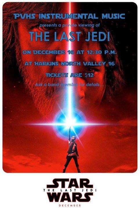 Private Screening Last Jedi At Harkins North Valley 16 Phoenix