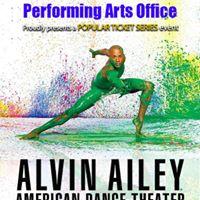Popular Ticket Series Alvin Ailey American Dance Theatre
