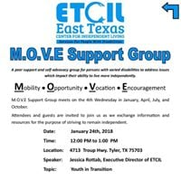 MOVE Support Group January 2018 Meeting