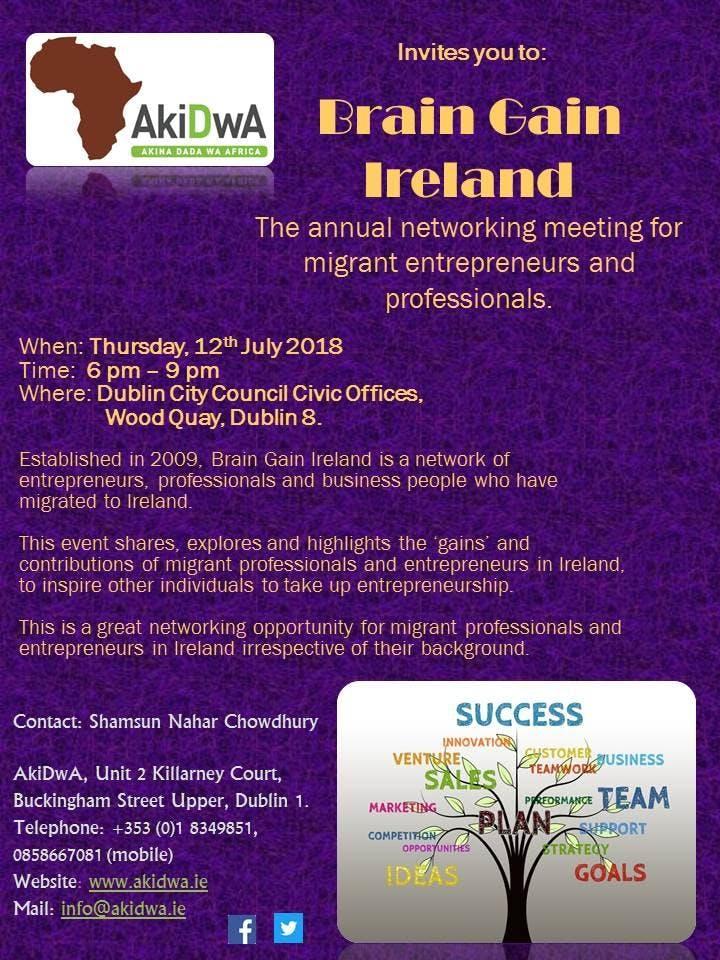 Brain Gain Ireland