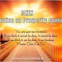 MCKS Meditation on Prosperity