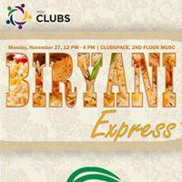 TCF Presents Biryani Express