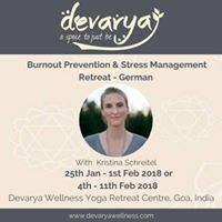 Burnout Prevention &amp Stress Management Retreat - German