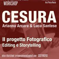 Workshop &quotIl progetto fotografico&quot di Cesura