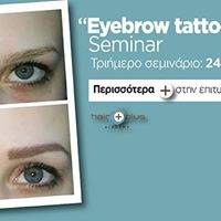 Eyebrow tattoo Seminar  Hair Plus Academy