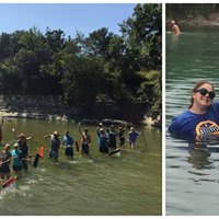 The Hell Yes Project Barton Springs Pool Cleaning