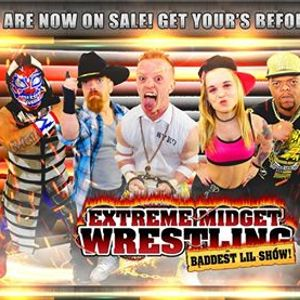 Extreme Midget Wrestling 2 in Send Gridley CA at Butte County