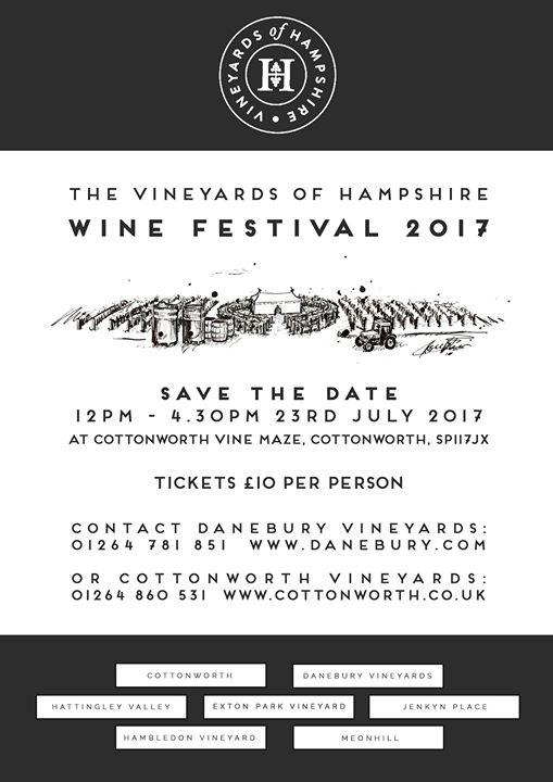 Vineyards of Hampshire Wine Festival 2017