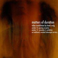 Workshop Matters of Duration