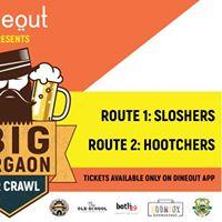 The BIG Gurgaon Bar Crawl  2 routes 4 bars &amp 1 BIG after party