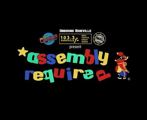 Assembly Required Asheville Designer Toy Expo