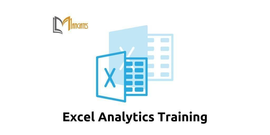 Excel Analytics Training in Cleveland OH on Apr 17th-19th 2019