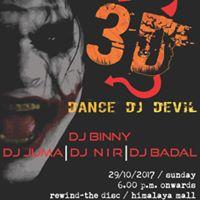 3D-Dance DJ Devil - HALLOWEEN PARTY 2017