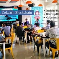 CoLearn Blockchain Hyderabad Insight Talks  Startup Showcase